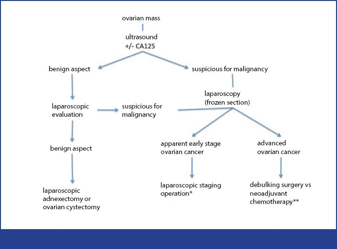 The Role Of Laparoscopy In The Evaluation And Treatment Of Epithelial Ovarian Cancer Bjmo